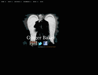 gingerbaker.com screenshot