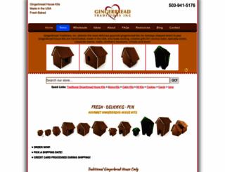 gingerbreadtraditions.com screenshot