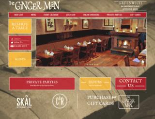 gingermanct.com screenshot