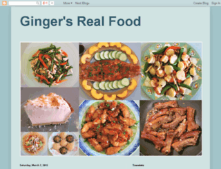 gingersrealfood.com screenshot