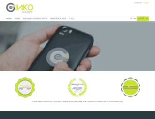 ginkocontrol.com screenshot