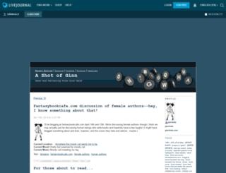 ginnhale.livejournal.com screenshot