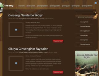 ginsengg.com screenshot