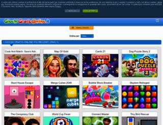 giochigratisonline.it screenshot
