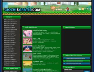 giochisgratis.com screenshot