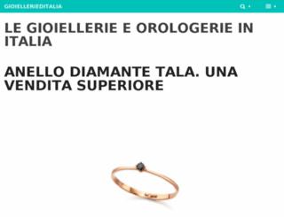 gioiellerieditalia.it screenshot