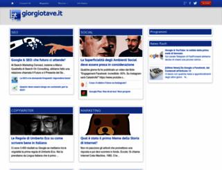 giorgiotave.it screenshot