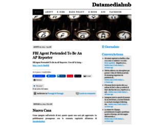 giornalaio.wordpress.com screenshot