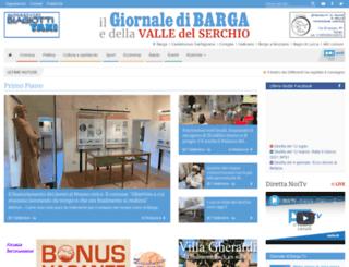 giornaledibarga.it screenshot