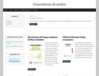 giornalismodianalisi.it screenshot