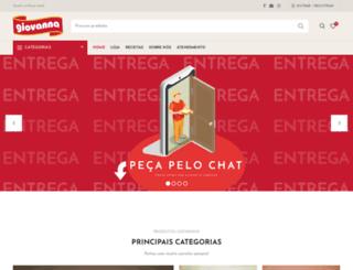 giovannacongelados.com.br screenshot