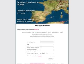gipuzkoa.com screenshot