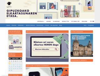 gipuzkoasolidarioa.info screenshot