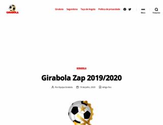 girabola.com screenshot