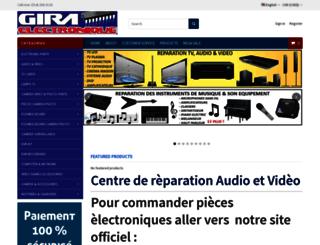 giraelectronique.com screenshot