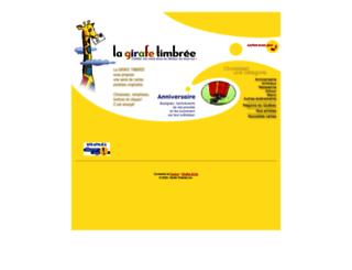 girafetimbree.com screenshot