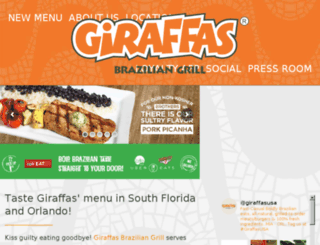 giraffas.com screenshot