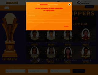 giraffe-learning.com screenshot