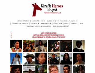 giraffe.org screenshot