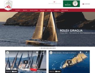 giragliarolexcup.com screenshot