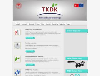 giresun.tkdk.gov.tr screenshot