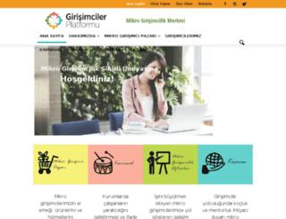 girisimcilerplatformu.com screenshot