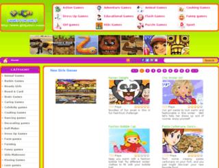girlgames.name screenshot