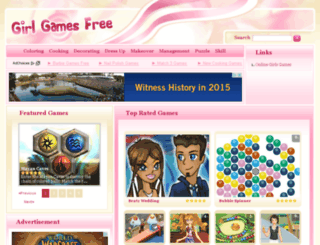 girlgamesfree.com screenshot