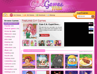 girlgamesmix.com screenshot