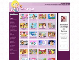 girlgamesnow.com screenshot