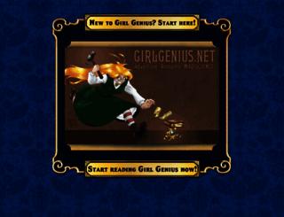 girlgenius.net screenshot
