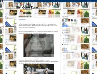 girlgoneeuro.blogspot.com screenshot