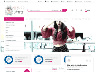 girlgoshopping.com screenshot