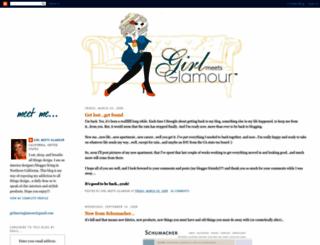 girlmeetsglamour.blogspot.com screenshot