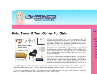 girlonlinegame.com screenshot