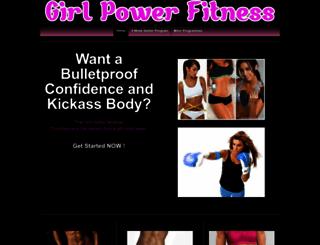 girlpowerfitness.familykaratecentre.com screenshot