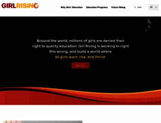 girlrising.com screenshot