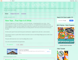 girlscoutleader101.blogspot.com screenshot