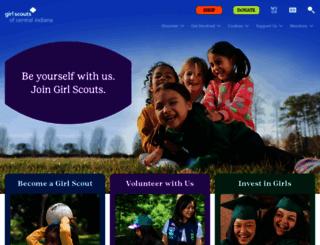 girlscoutsindiana.org screenshot