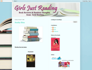 girlsjustreading.blogspot.com screenshot