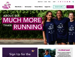 girlsontherun.org screenshot