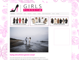girlsplanet.dk screenshot