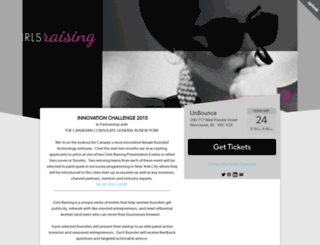 girlsraising4.splashthat.com screenshot