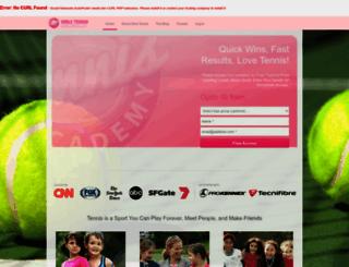 girlstennisacademy.com screenshot