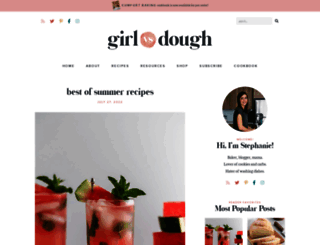 girlversusdough.com screenshot