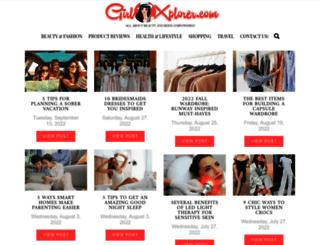 girlxplorer.com screenshot