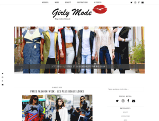 girly-mode.fr screenshot