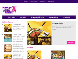 girly8games.com screenshot