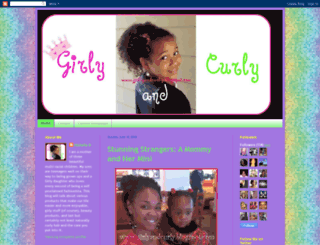 girlyandcurly.blogspot.com screenshot