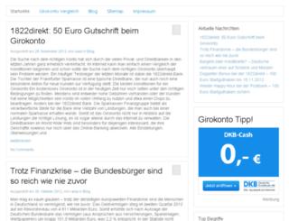 girokonto-tipps.de screenshot